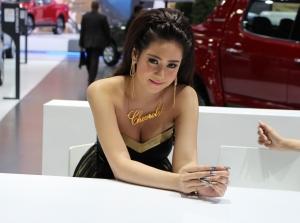 Ngắm dàn mỹ nữ nóng bỏng tại Bangkok Motor Show 2015
