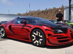 """Cận cảnh quá trình vận chuyển """"Ông hoàng tốc độ"""" Bugatti Veyron"""