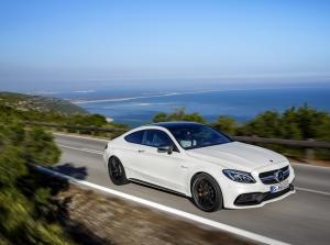 Mercedes-AMG C63 Coupe 2017 lộ diện hoàn toàn