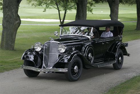 Lincoln KB 7-Passenger Phaeton 1933