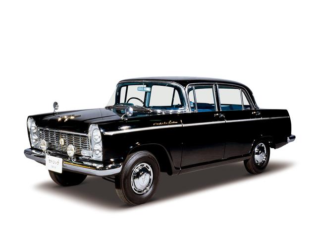 1961 Cedric Custom - Máy H (4-cyl. in line, OHV), 1,883cc, 65kW (88PS)