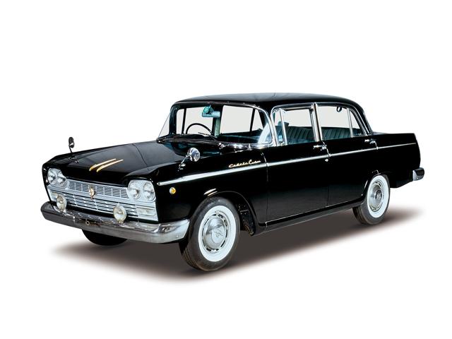 1964 Cedric Custom - Máy H (4-cyl. in line, OHV), 1,883cc, 65kW (88PS)