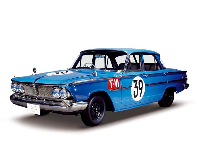 1964 Gloria Super 6 - Máy Type G7 (6-cyl. in line, OHC), 1,988cc, 104kW (142PS)