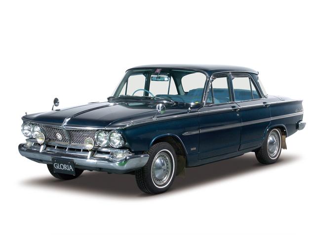 1967 Prince Gloria Super 6 - Máy G7 (6-cyl. in-line, OHC), 1,988cc, 77W (105PS), tốc độ tối đa 155kmh
