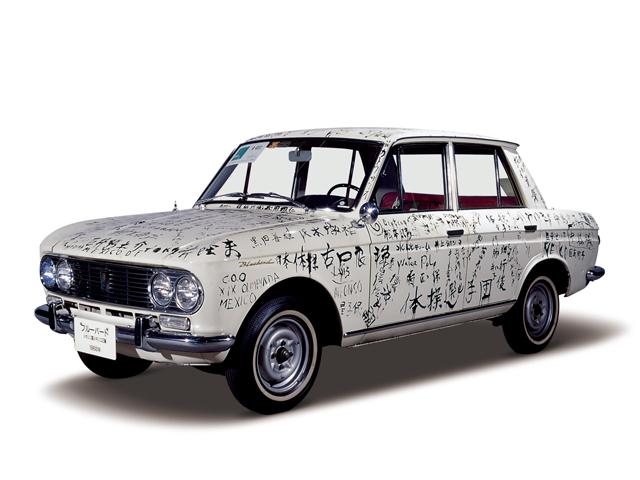 1968 Bluebird 1300 - Máy J (4-cyl. in line, OHV), 1,299cc, 46kW (62PS)