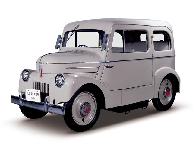 1947 Tama Electric Car - Máy Lead-acid battery (40V162Ah), 3.3kW (4.5hp), tốc độ tối đa 35kmh