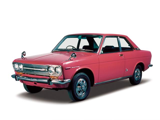 1969 Bluebird 1600SSS Coupe - Máy L16 (4-cyl. in line, OHC), 1,595cc, 94kW (100PS), tốc độ tối đa 165kmh