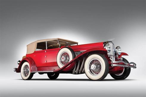 Duesenberg Model J - xe sedan mui trần đời 1930.