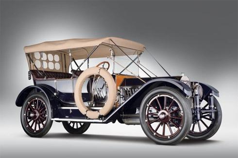 Oldsmobile Limited 5 chỗ đời 1912.