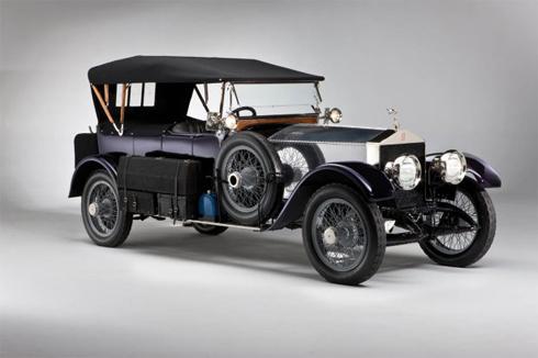 Rolls-royce Silver Ghost Tourer 1914.