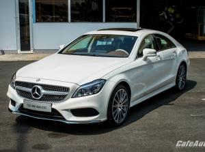 Mẫu coupe thể thao 4 cửa Mercedes-Benz CLS 500 4MATIC