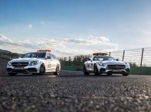 Bộ đôi xe an toàn Mercedes-AMG GT và C63 phục vụ F1