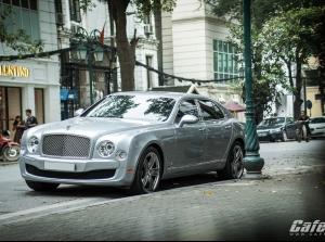 Bentley Mulsanne Le Mans Edition trên phố Hà Nội