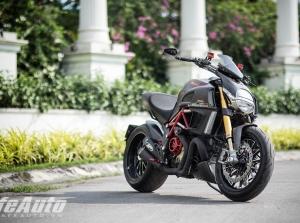 Mãn nhãn với Ducati Diavel độ Carbon độc nhất Việt Nam