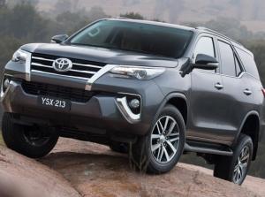 Hình ảnh thực tế Toyota Fortuner 2016