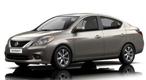 Xe 4 chỗ Nissan Sunny khuyến mại lớn