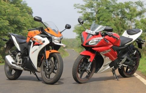CBR150R và R15 - lựa chọn nào cho khách hàng Việt