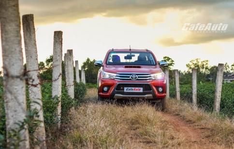 Trải nghiệm Toyota Hilux 2016 – Những nâng cấp đáng giá