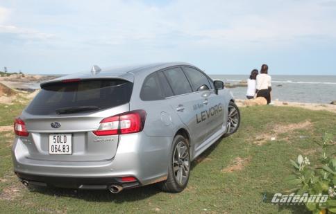 Subaru Levorg: Chọn con đường đi khác