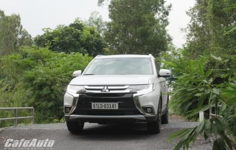 Mitsubishi Outlander: Chiếc xe toàn diện