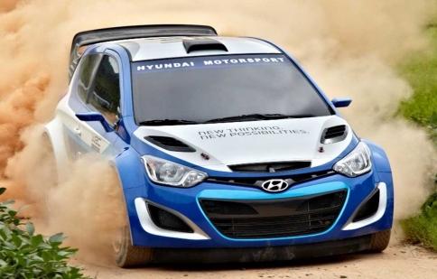 Hyundai trở lại giải đua WRC