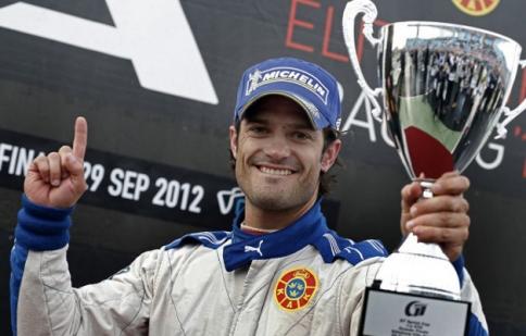 Hoàng tử Thụy Điển sẽ đua cho Volvo tại giải STCC