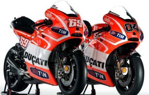 GP13 – chiến mã của Ducati MotoGP