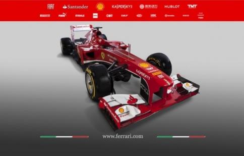Ferrari trình làng F138 Formula 1