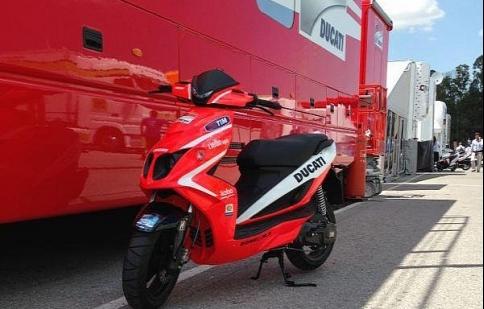 Rieju RS50LC Sport – scooters của Ducati MotoGP