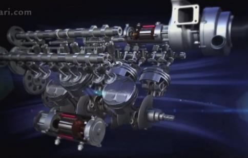 Ferrari tiết lộ động cơ cho mùa Công Thức 1 mới