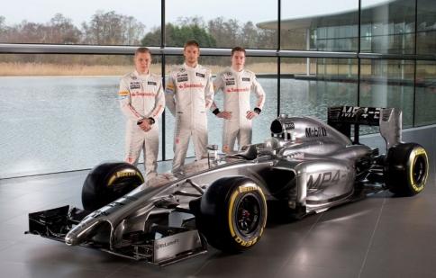 McLaren tiết lộ xe thi đấu F1 cho mùa 2014
