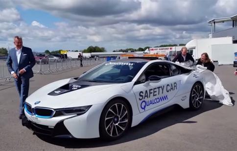 BMW i8 làm xe dẫn đường tại giải đua Formula E