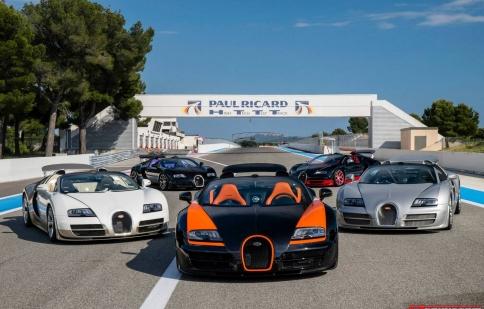 Bugatti mang xe 1.200 mã lực tới giải đua 24 Hours of Le Mans