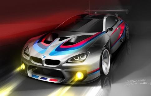 BMW M6 GT3 dành cho giải đua GT 2016