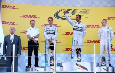 F1: Mercedes nắm chắc chiến thắng