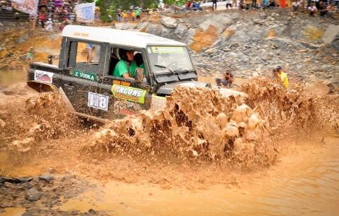 Lần đầu tiên giải đua xe địa hình RFC được tổ chức tại miền Nam