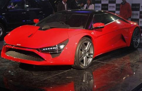 Chiêm ngưỡng siêu xe đầu tiên của Ấn Độ