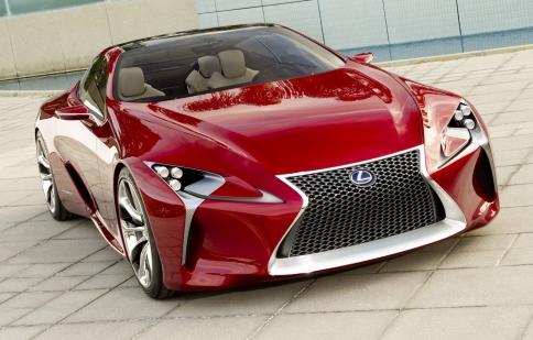 Những hình ảnh mới nhất của Lexus LF-LC Sports Coupe