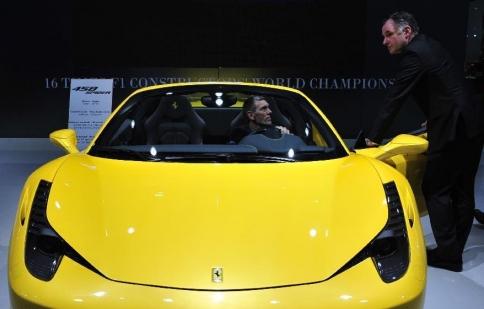 Cận cảnh triển lãm ô tô châu Âu 90