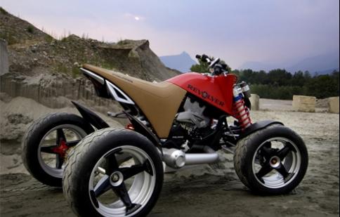Bộ sưu tập môtô concept 'độc'