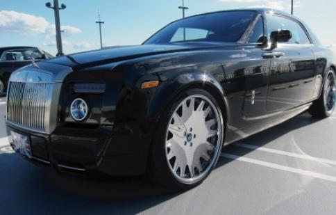 Chiêm ngưỡng Rolls-Royce Phantom Coupes với bánh xe cực lớn