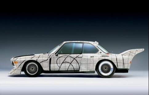 BMW hóa trang nghệ thuật