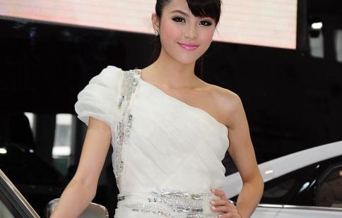 Người đẹp tại triển lãm Hải Nam 2012