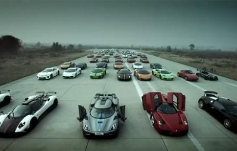 """Chiêm ngưỡng CLB siêu xe Trung Quốc với bộ sưu tập """"khủng"""""""