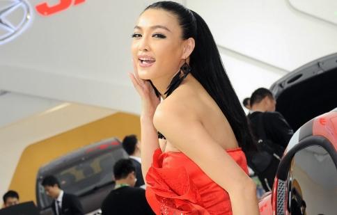 Người đẹp tại Bắc Kinh Auto Show