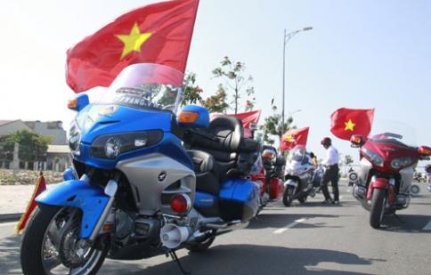 Dàn môtô khủng hội tụ đất Đà thành