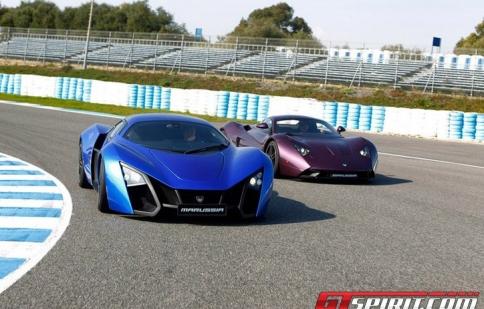 Marussia B2 hết hàng