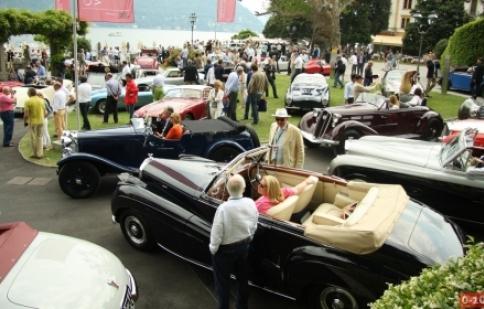 Ngắm siêu xe mọi thời đại tại Concorso d'Eleganza Villa d'Este 2012