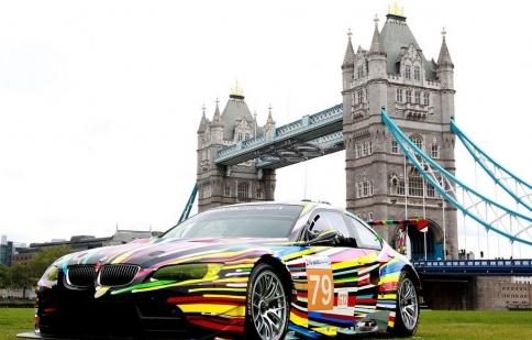 BMW tổ chức triển lãm ô tô nghệ thuật tại thế vận hội London 2012
