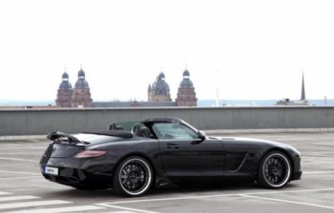 VATH nâng cấp Mercedes SLS Roadster